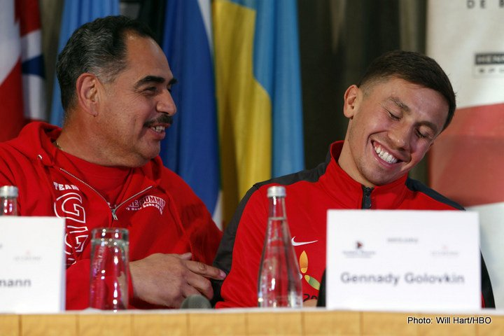 "Gennady Golovkin, Kell Brook, Saul ""Canelo"" Alvarez - Though he claims he is not too interested in the fast approaching fight between Gennady Golovkin and Kell Brook, Saul Canelo Alvarez has given the media his pre-fight prediction: Brook, who he says is ""being sacrificed,"" will definitely get knocked out. Canelo has launched a scathing attack on middleweight king Golovkin, stating how ""he has to worry about his legacy, I don't have to worry about mine."""