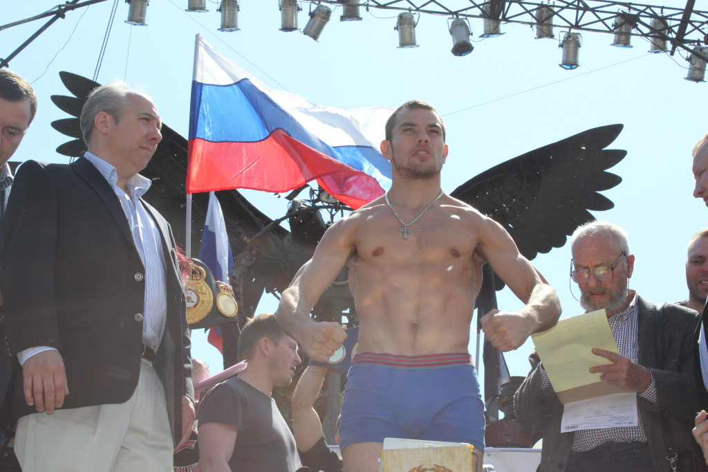 'Man vs Machine': I Will Rip Into Buglioni Like a Shark says Fedor Chudinov