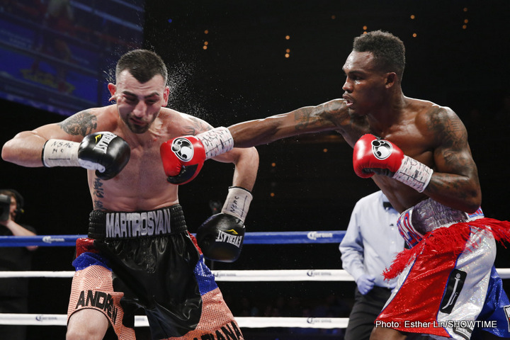 Jermell Charlo - The latest mismatch to roll off of the Premier Boxing Champions production line pits unbeaten super welterweight contender Jermell Charlo (26-0, 11ko) against long faded 39 year old former world champion Joachim Alcine (35-7-2, 21ko), it was announced yesterday.