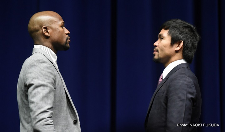 Mayweather vs. Pacquiao: Saturday, May 2 Live on Pay-Per-View