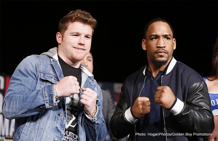 Canelo Alvarez James Kirkland Boxing News
