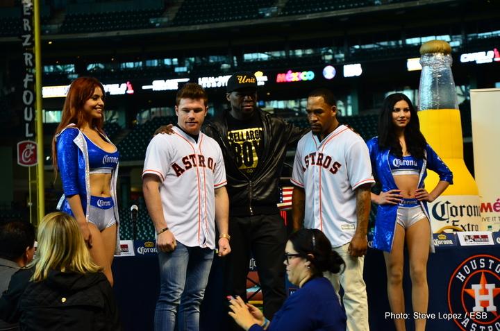 Canelo vs. Kirkland Excusive Photos: Houston, TX Press Conference