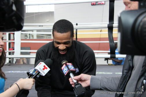 Lamont Peterson -  IBF Champion is fit and focused heading into his imminent showdown with Danny Garcia