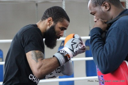 1-Lamont Peterson - Open Workout - 37 Photo © Paul 'Paparazzi' Jones