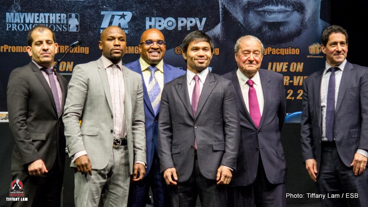 Amir Khan, Floyd Mayweather, Manny Pacquiao - We are only a few days away now from the fight which almost everyone wants to see – Mayweather vs Pacquiao. In the build up to the fight the focus has strongly been on three things – How much money the fight is generating, why it took so long to make the fight happen and who folks believe is going to win. Most predictions have surprisingly favoured Floyd Mayweather Jr. I am not too sure why, perhaps because he is undefeated and always wins. The fight has not been without its detractors though, and rightly so. Both guys are past their prime, the fans are getting ripped off with prices for the PPV and tickets (if indeed they could get any) and the fight has been blown out of proportion and should be recognized for what it truly is – a final eliminator to face the sensational pound for pound number 1 fighter on the planet, Britain's great Amir Khan.
