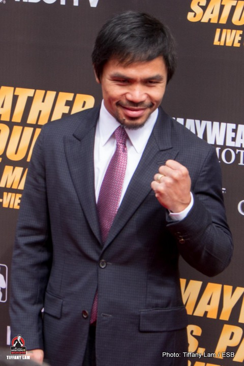 Floyd Mayweather Jr Manny Pacquiao Mayweather vs. Pacquiao Boxing News Top Stories Boxing