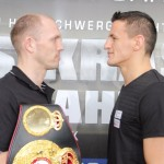 Robin Krasniqi - Photo Credit: Sebastian Heger - Mission Impossible' or 'Rock 'n' Roll', these are the two opposing views shared at today's final press conference ahead of Saturday night's WBA World Light Heavyweight Championship fight between Juergen Braehmer (45-2, 33 KOs) and Robin Krasniqi (43-3, 16 KOs) at the StadtHalle in Rostock, Germany.