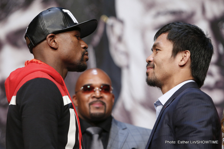 Floyd Mayweather Jr, Manny Pacquiao, Mayweather vs. Pacquiao - It feels long overdue for boxing fans, who for five years have had to wait through negotiations, trash talk, and allegations of everything from steroids to fight-ducking.