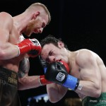"Andrzej Fonfara, Julio Cesar Chavez Jr. - Confident and determined, Andrzej ""The Polish Prince"" Fonfara (27-3, 16 KOs) spoiled the ring return of Julio Cesar Chavez Jr. (48-2-1, 32 KOs) in resounding fashion Saturday night, flooring the former middleweight champion one time en route to a one-sided ninth-round TKO in the main event of SHOWTIME CHAMPIONSHIP BOXING live on SHOWTIME."