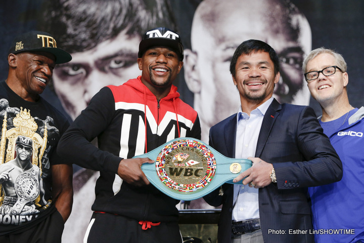 Floyd Mayweather Jr, Manny Pacquiao - Boxing News