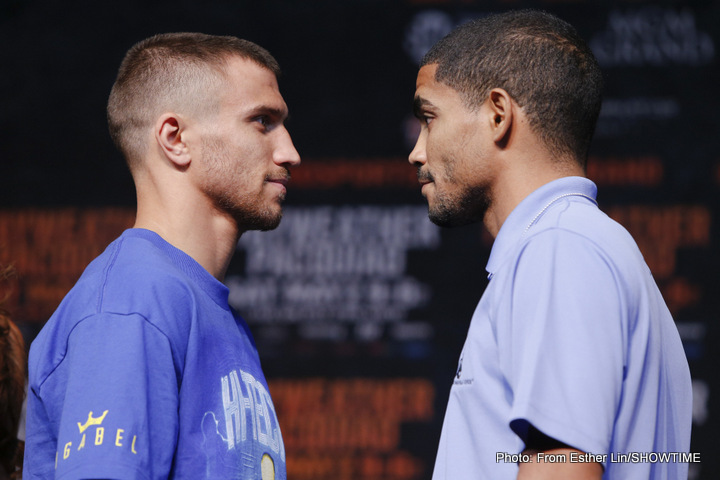 Santa Cruz vs Cayetano; Lomachenko vs Rodriguez Quotes / Photo Gallery