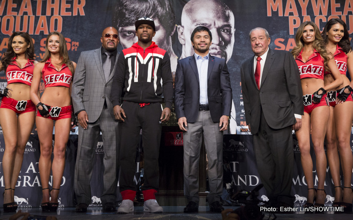 Mayweather vs Pacquiao: True or False