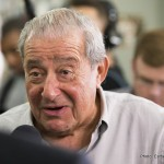 Orlando Salido - Top Rank promoter Bob Arum is already looking past his fighter Vasyl 'Hi-Tech' Lomachenko's fight against Guillermo Rigondeaux this weekend towards a rematch between Lomachenko and Orlando Salido. Lomachenko (9-1, 7 KOs) suffered his only pro career loss to Salido in 2014 in losing a 12 round split decision, and the loss marred his perfect record. Salido (44-13-4, 31 KOs) is now 37-years-old, and clearly not the same fighter he was in 2014, but that doesn't matter to Arum.