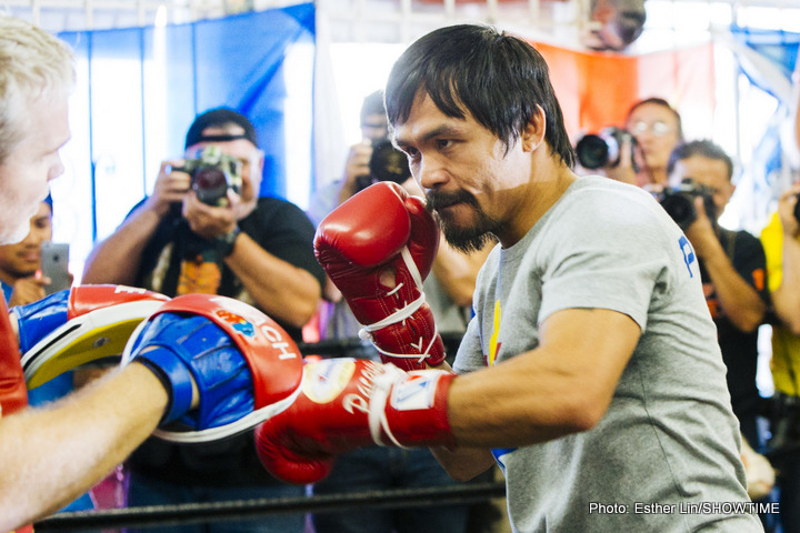 Manny Pacquiao admits to facing the effects of time