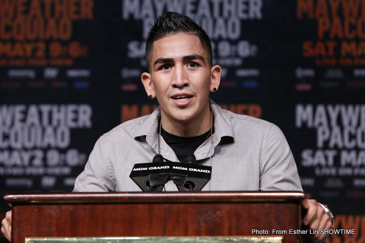 Leo Santa Cruz: 'Mares Fight Ends By Knockout'