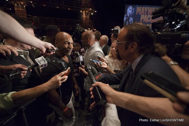 Lennox Lewis Mike Tyson Boxing News