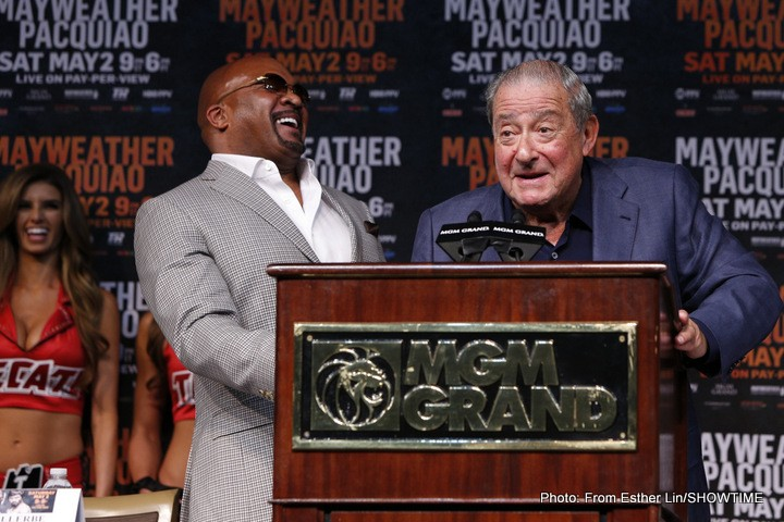 Al Haymon Bob Arum Floyd Mayweather Jr Oscar De La Hoya Boxing News Top Stories Boxing