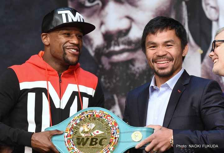 Our Generation's Super Fight: Mayweather-Pacquiao