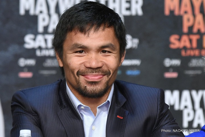 Khan Says Manny Can't Fight On The Inside