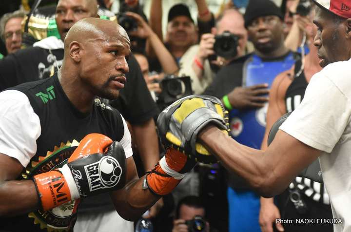 Mayweather/Pacquiao –  game plans last until the first big shot
