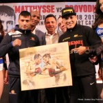 """Lucas Matthysse, Ruslan Provodnikov - This Saturday night Turning Stone Resort and Casino will host an HBO event that will likely be the leading candidate for fight of the year by night's end. Stylistically speaking this is as close to a hardcore-fight fans dream matchup as any other on the busy spring fight schedule. Lucas """"The Machine"""" is set to do battle against Ruslan """"The Siberian Rocky"""" Provodnikov with the victor possibly facing the co-feature bout winner between Terrance Crawford and Thomas Dulorme. Who will survive this firefight that promises to produce enough electricity to light up all of New York City?"""