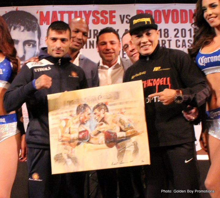 Lucas Matthysse and Ruslan Provodnikov on a Highway to Hell