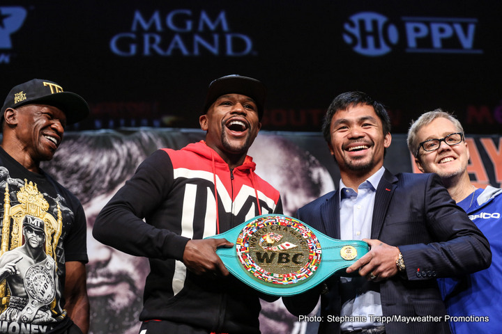 Floyd Mayweather vs Manny Pacquiao: Scoping the Narratives