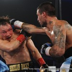 """Lucas Matthysse, Ruslan Provodnikov - Turning Stone Resort Casino in Verona, New York was treated to a historic sold out match-up between two of the most exciting gladiators in boxing as Lucas """"La Maqina"""""""" Matthysse (37-3, 34 KO's) took a majority decision victory over """"The Siberian Rocky"""" Ruslan Provodnikov (24-4, 17 KO's) in a 12-round junior welterweight bout on the split-site doubleheader on HBO Boxing After Dark ®."""