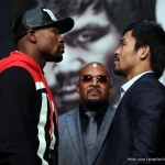 """Floyd Mayweather Jr, Manny Pacquiao, Mayweather vs. Pacquiao - Let me digress a little by arguing that it is somewhat childish for people of sound mind and discretion to claim one boxer was better than another when they competed in divisions that were so disparately distant in terms of their weight, that it preclude them ever being able to fight each other, even if they existed within the same chronological time line. That is equivalent to arguing that Usain Bolt, a sprinter, was a better athlete than Ethiopian Marathoners Abebe Bikila and Degaga (""""Mamo"""") Wolde, or vice versa. One cannot accurately extrapolate the pugilistic skills and abilities of heavyweight boxers to what they would be if they fought at lightweights, welterweights or middleweights, and vice versa. It is an argument that is as nebulous as one seeking to determine whether John Wayne was faster on the draw than Audie Murphy, simply on the basis of their movie roles. I just had to get that out."""