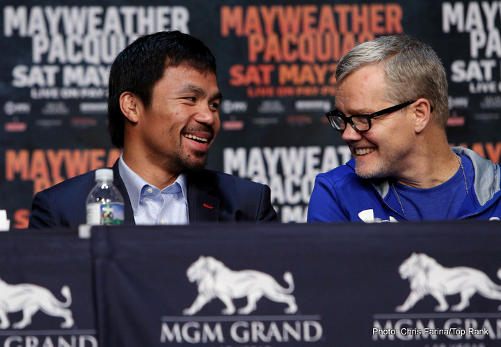 Mayweather vs Pacquiao: Benjamins and Bragging Rights