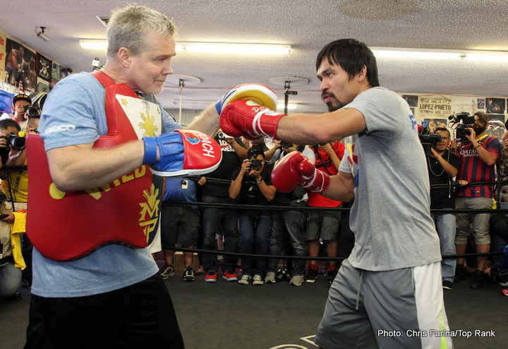 Manny Pacquiao  Workout Quotes And Photos