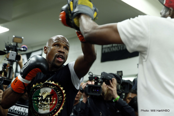 Is Floyd Mayweather talking up a comeback fight against GGG?