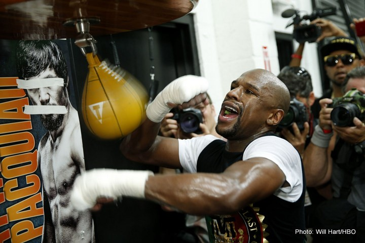 Floyd Mayweather Workout Quotes And Huge Photo Gallery