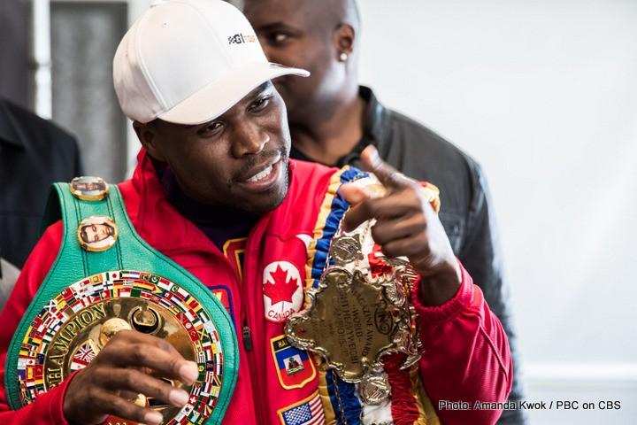 Adonis Stevenson Thomas Williams Boxing News