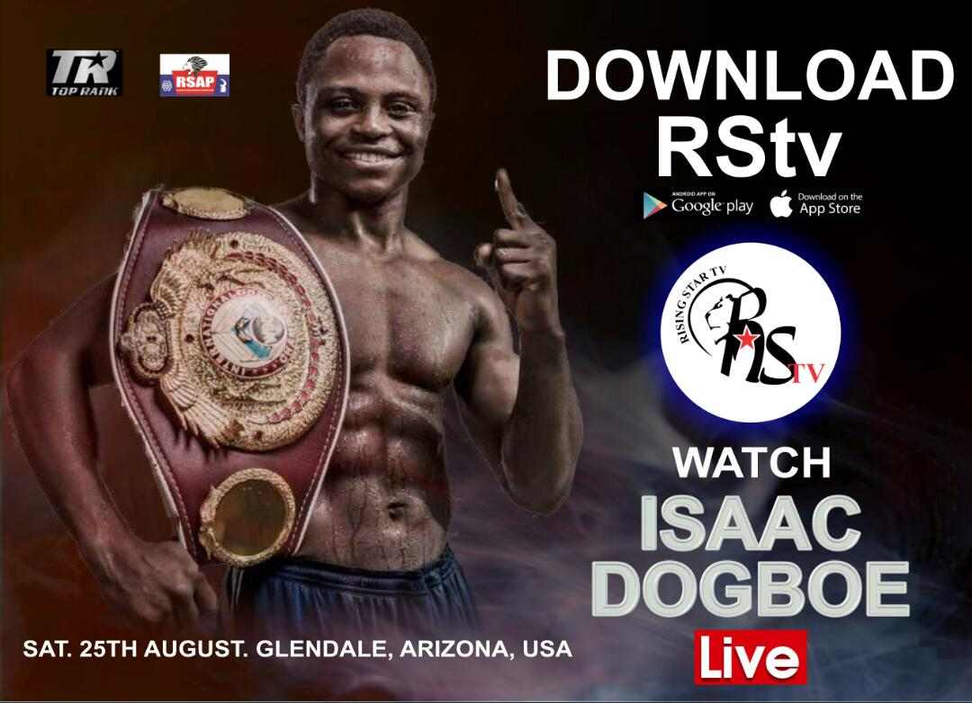 Isaac Dogboe grateful to Ghanaians, creates RStv app to show his fights