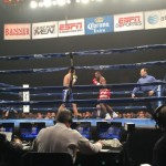 Andrey Fedosov, Brandon Adams, Donovan Dennis, John Thompson - by Joe Latti – Brick City Boxing - The 2015 Boxcino Tournament continues to impress, as this edition took Sands Casino in Bethlehem, PA by storm on Friday, April 10th. The show was promoted by Arthur Pelullo's Banner Promotions and broadcast live on ESPN's Friday Night Fights on ESPN2.  The semi-finals featured four-eight round bouts in the Jr. Middleweight and Heavyweight divisions, with the winners advancing to the 2015 Boxcino Finals on May 22, 2015 in Corona, CA.