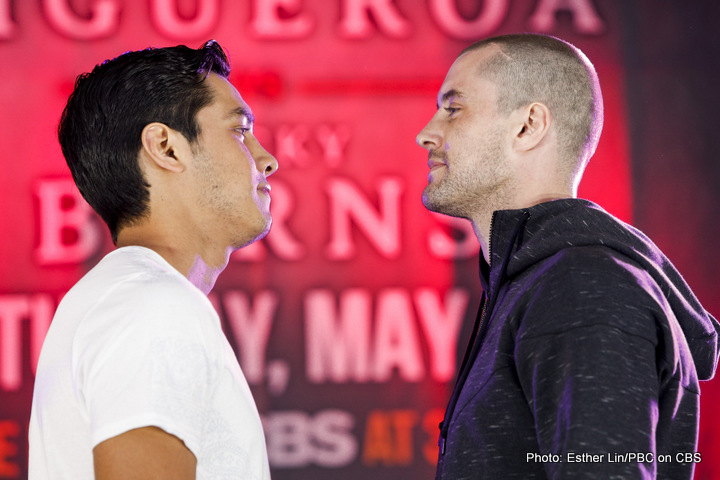 "Tomoki Kameda - Fight week for Premier Boxing Champions on CBS continued Thursday as televised fighters Omar ""Panterita"" Figueroa, Ricky Burns, Tomoki ""El Mexicanito"" Kameda, Jamie McDonnell and Austin ""No Doubt"" Trout spoke to the media at the final press conference before their respective bouts taking place Saturday, May 9 at State Farm Arena. Here are what the participants had to say Thursday:"