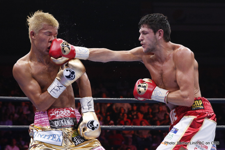 Tomoki Kameda - Arguably Britain's most under-appreciated world champion, Jamie McDonnell (26-2-1, 12ko), fights out in Texas for the second time on Sunday, to again defend his WBA (reg) bantamweight title in a rematch with dangerous Japanese former WBO champion Tomoki Kameda (31-1, 19ko), whom he got off the floor to beat in a cracking little scrap back in May, winning a close UD by scores of 114-113 (x3).