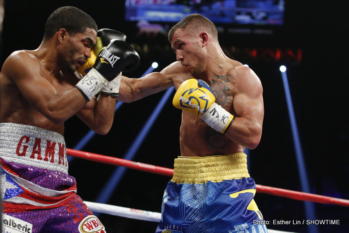 Vasyl Lomachenko-Orlando Salido II in March?