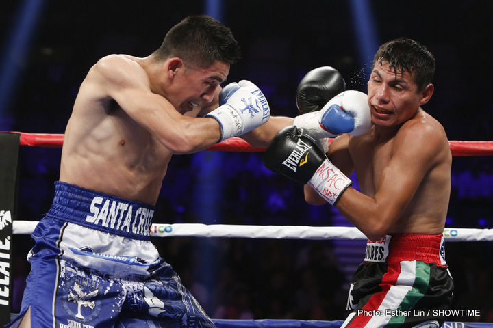 Leo Santa Cruz vs Jose Cayetano