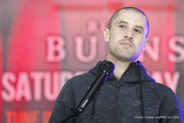 Ricky Burns says why not to a Terence Crawford return