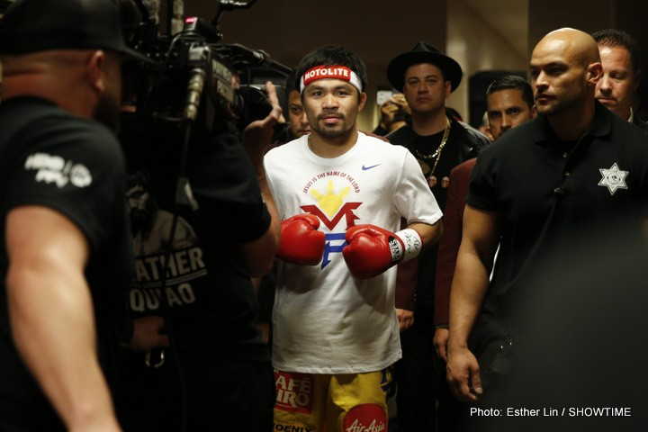 Manny Pacquiao Boxing News