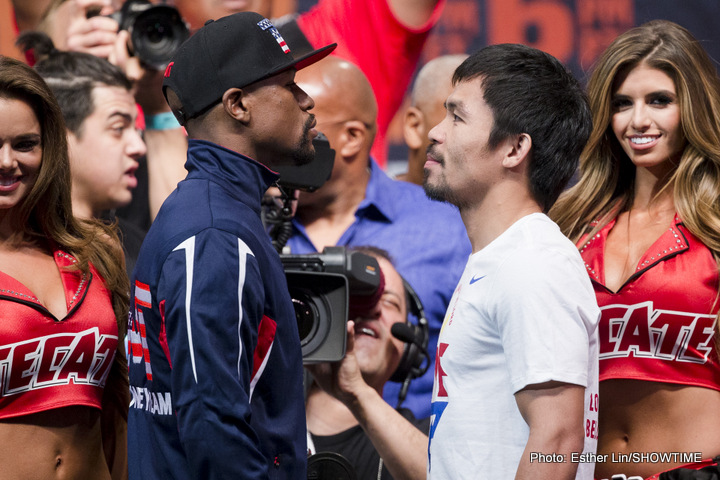 Jeff Horn, Manny Pacquiao - It seems a rematch between his fighter Manny Pacquiao and the unbeaten Floyd Mayweather Junior is never far from Freddie Roach's mind. Out in Australia for this Saturday's WBO welterweight title fight defence against unbeaten puncher Jeff Horn, Roach and Pac Man have again been talking Mayweather, and a possible (though, it seems to most people, extremely unlikely) rematch.