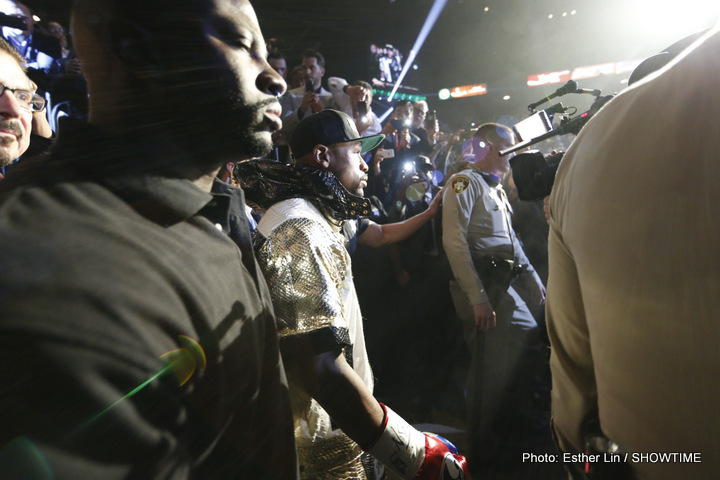 Mayweather Stripped Of WBO 147 lb Belt / Bradley To Be Upgraded