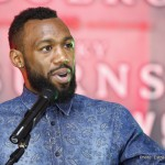 Austin Trout - Leonard Ellerbe  - I would like to thank everyone for joining us on the call today. We have an exciting tripleheader of Super Welterweight World Title fights. It will be headlined by Cuban sensation and WBA Super Welterweight World Champion, Erislandy Lara against exciting challenger and 2004 U.S. Olympian, Vanes Martirosyan in a rematch of their 2012 technical draw.