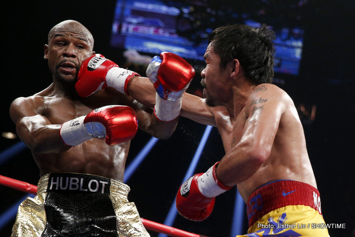 Is Floyd Mayweather considering fighting GGG?