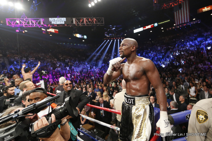 Floyd Mayweather Junior lists his top-5 fighters of all-time