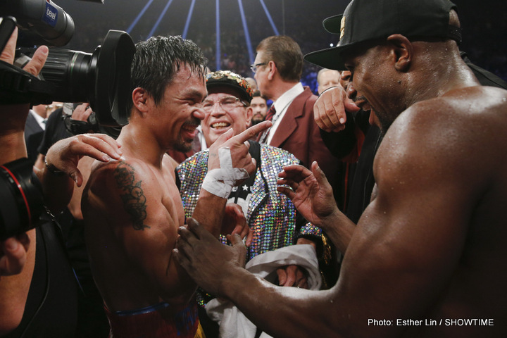 Mayweather/Pacquiao: War Of Words Continues