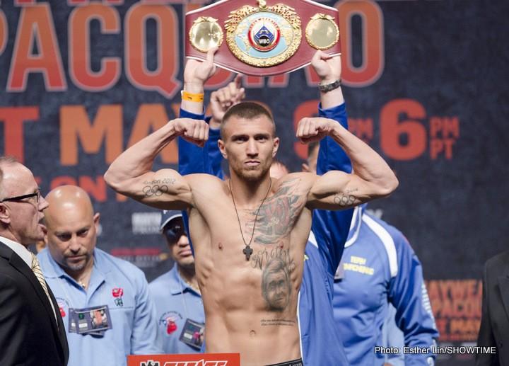 Miguel Marriaga Vasyl Lomachenko Boxing News Top Stories Boxing