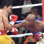 Floyd Mayweather Jr, Manny Pacquiao - The bookmakers predicted the fight would go the distance and that Floyd Mayweather would be the victor. Floyd was a 1/2 odds on favourite and he didn't disappoint, frustrating and befuddling his Filipino foe to win a unanimous points decision. One of the three judges had it 118/110, the other two had it 116/112. Case closed, the defensive magician had done it again. At least that's how the story goes.